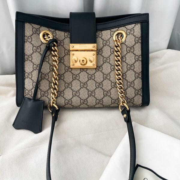 Padlock small GG shoulder bag