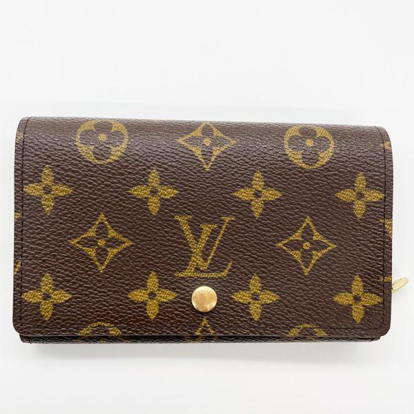 LV short wallet